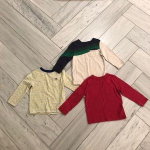 Toddler boy long sleeve bundle